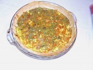Carrot-Tarragon Tart