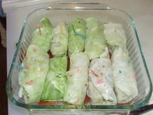 Cabbage rolls 015