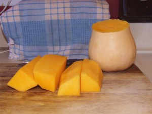Raw Butternut Squash Salad 007