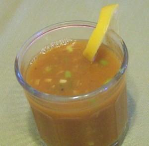 Spicy Vegetable Broth - Breakfast 4