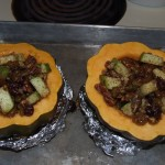 Baked Curried Squash